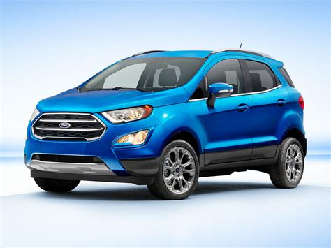 ford ecosport mpg price reviews  newcarscom