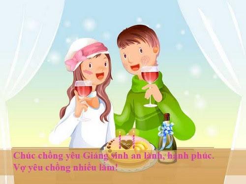 loi chuc giang sinh tang vo chong