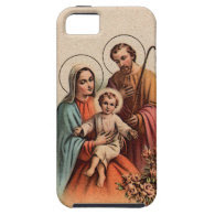 The Holy Family - Jesus, Mary, and Joseph iPhone 5 Cover