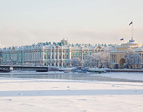 Winter tours in St. Petersburg. Guided tours, winter discounts.