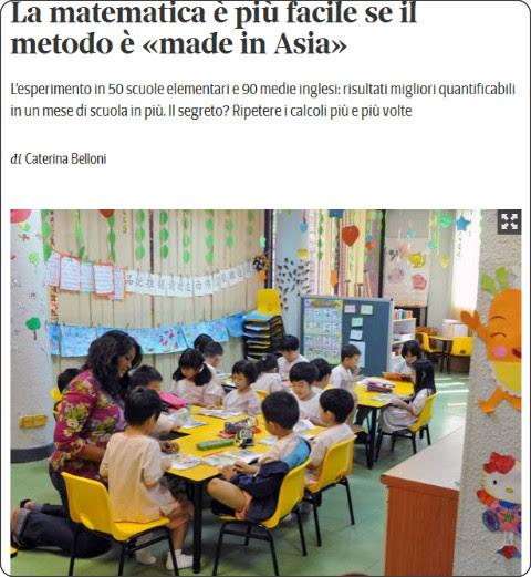 http://www.corriere.it/scuola/primaria/15_luglio_07/matematica-metodo-asiatico-scuole-inglesi-risultati-migliori-1d607482-2485-11e5-8714-c38f22f7c1da.shtml