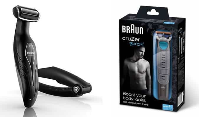 Philips BodyGroom & Braun CruZer Body Trimmer