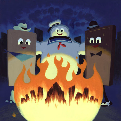 gallery 1988's 3G show - Ghostbusters, by drake brodahl (S'more Friends by pumml)