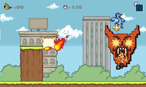 Regular Show: Mordecai and Rigby in 8-bit Land - 3DS