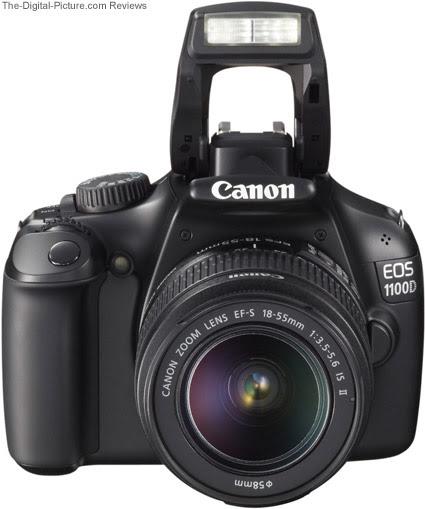 canon rebel eos slr 300d. Canon EOS Rebel T3 / 1100D Top