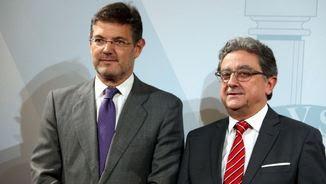El ministre Rafael Catalá amb el delegat del govern espanyol, Enric Millo (ACN)