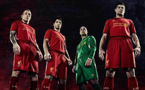 Liverpool FC: Home Jersey 2012-2013