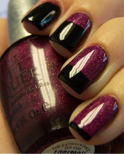 Nails: Gradual French Tip