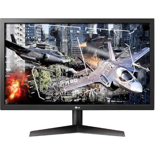 LG Ultragear 24GL600F-B 24 inch Full HD Gaming Monitor with Radeon FreeSync