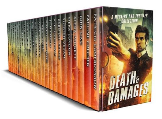 $.99 Death and Damages: A Limited Edition Mystery and Thriller Boxed Set Book Blast