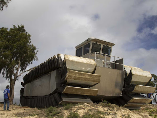 The Marine Corps Is Testing A Monster Of A New Amphibious Assault Vehicle