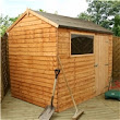 iLikeSheds | 6ft x 8ft Reverse Overlap Apex Shed (10mm Solid OSB Floor)