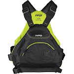 NRS Ninja Type III Personal Flotation Device, Black