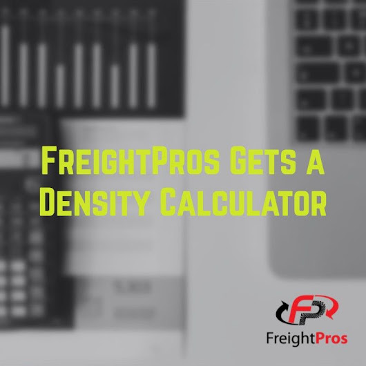 Freight Density Calculator: Keep Your Shipping Costs Low