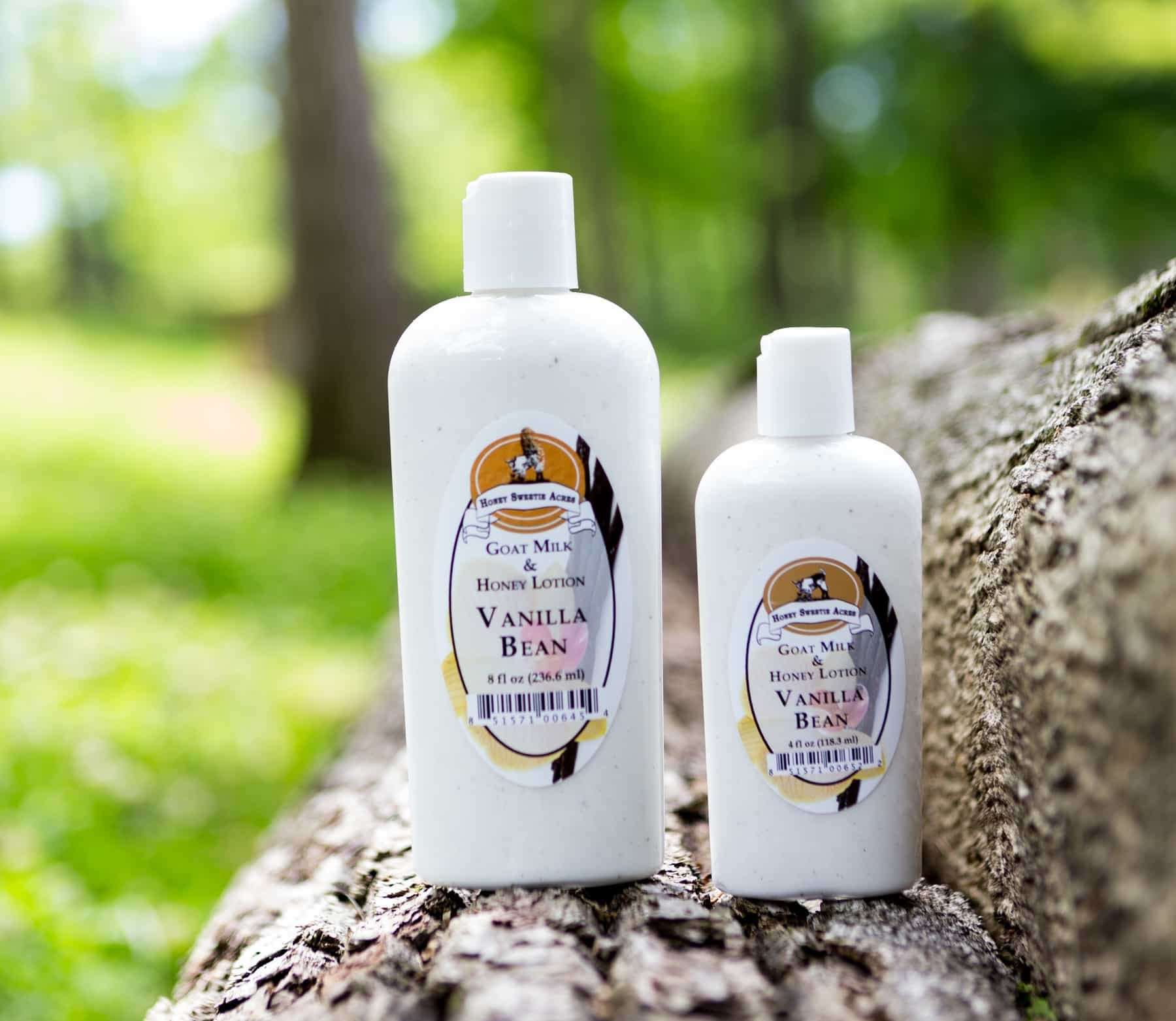 natural vanilla bean goat milk lotion organic