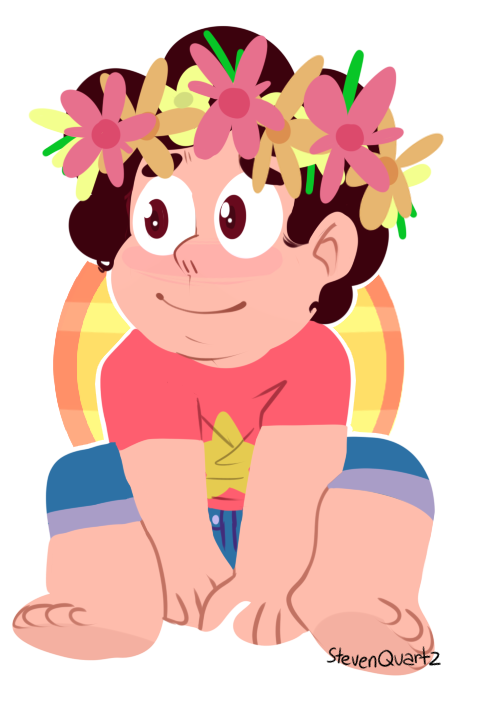 Flower child. [Commission me!]
