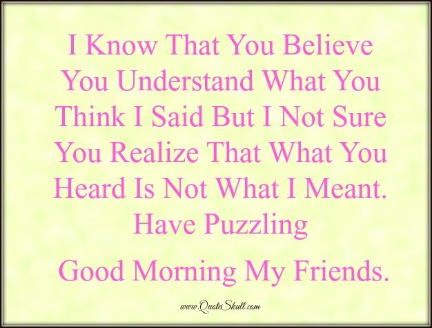 Top 25 Good Morning Funny Quotes For Him Her Friends
