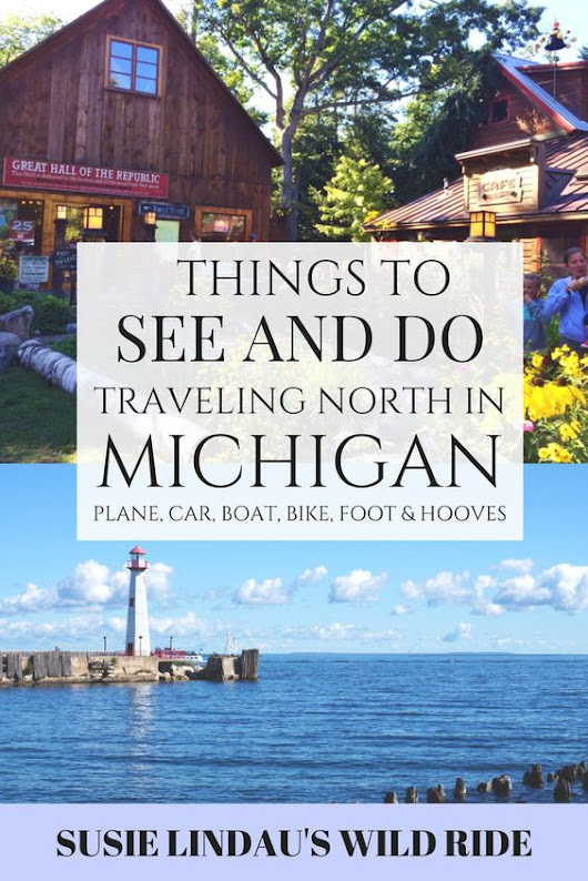 Traveling North by Plane, Car, Boat, Bike, Foot, and Hooves