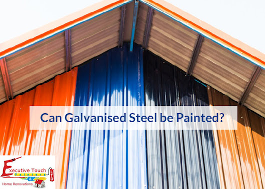 Can Galvanised Steel Be Painted?