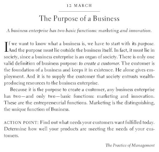The Purpose of a Business is to Create a Customer | The Escher Cycle