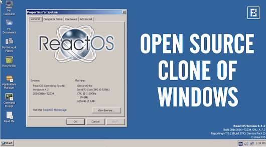 ReactOS 0.4.2, An Open-source Windows Clone, Released With Unix Filesystem Support