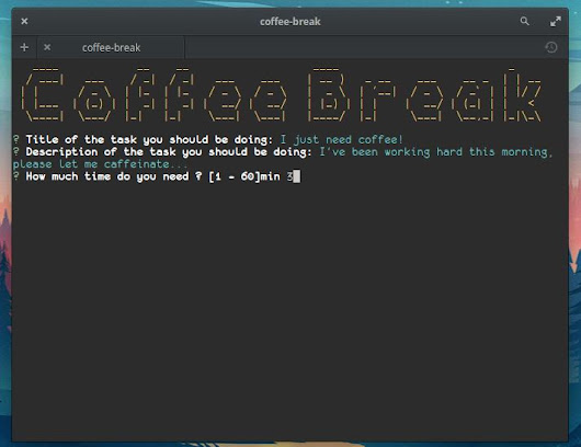 Coffee Break Cli