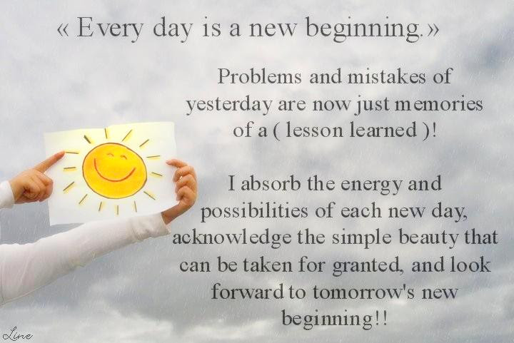 Quotes About New Day Fresh Start 13 Quotes