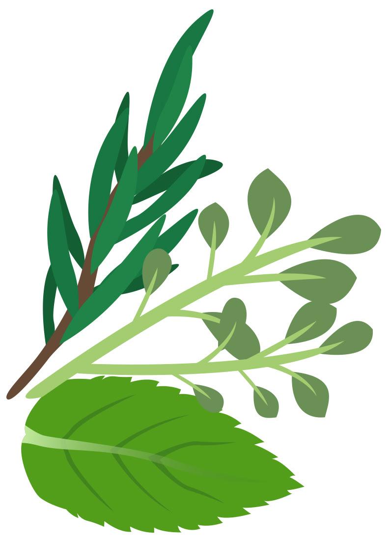 Smoking herbs clipar