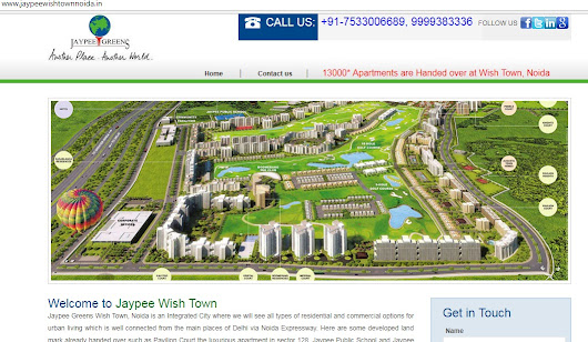 Noida Expressway Residential Projects Such Jaypee Greens Wish Town