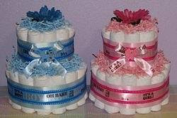Best Selection Of Diaper Cakes Unique Gift Idea For Sale