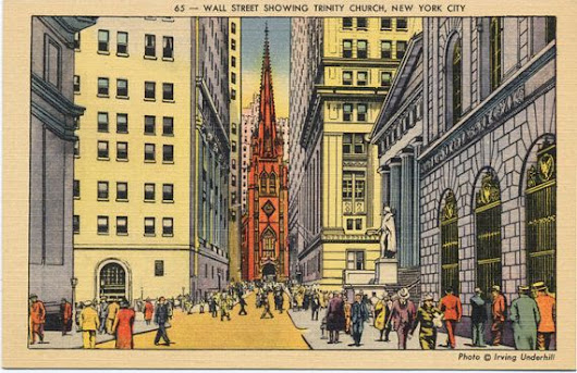 Postcard Thursday: Trinity's Real Estate Holdings