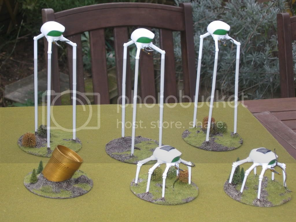 Wargaming War of the Worlds