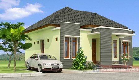 gambar rumah minimalis tampak depan samping belakang