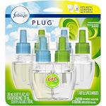 Febreze Plug Air Freshener Scented Oil Refill, Gain Original Scent, 3 Count