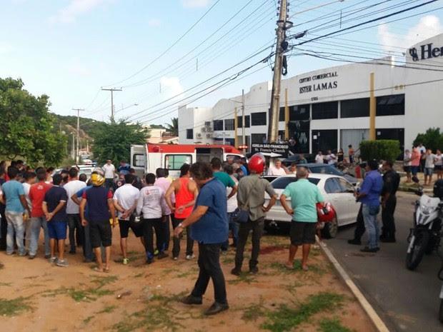 De acordo com a PM, suspeitos presos em Natal disseram que são de João Pessoa. (Foto: Divulgação / PM)
