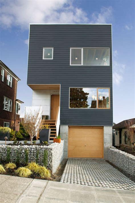 ideas  narrow lot house plans  pinterest