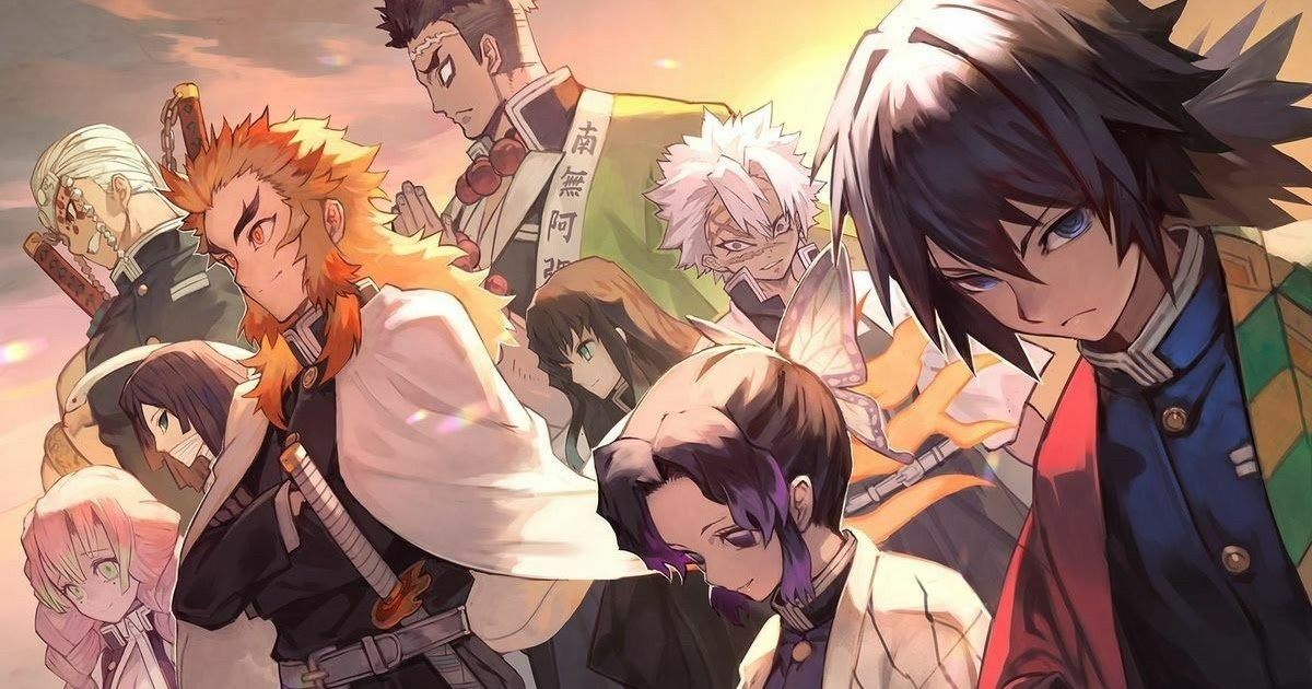 Main characters of demon slayer: Demon Slayer Hashira Names English - Manga