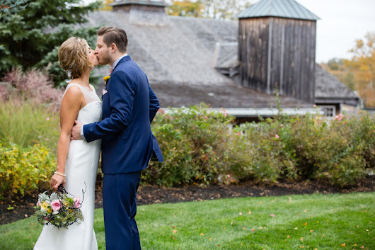 An Elegant, Intimate and Beautiful New England Barn Wedding