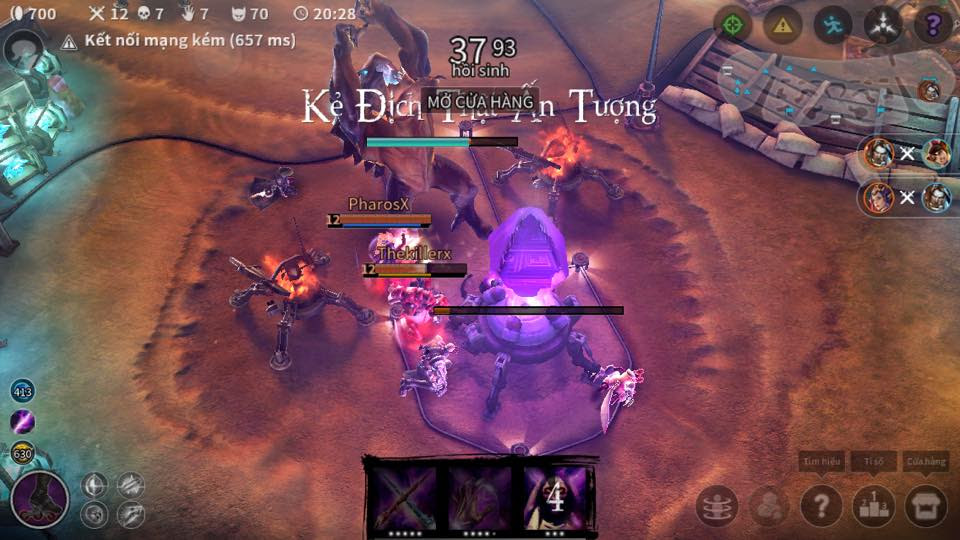 vainglory cho android lmht