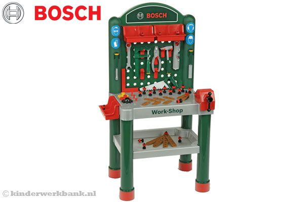 Bosch Werkbank luxe   Kinderwerkbank.nl