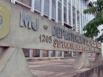 Polícia Federal de Mato Grosso, MT, Cuiabá (Foto: Reprodução/TVCA)