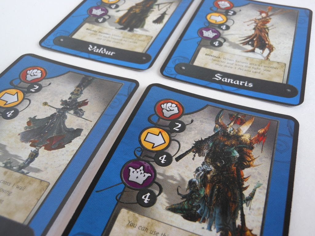 Cadwallon: City of Thieves character cards