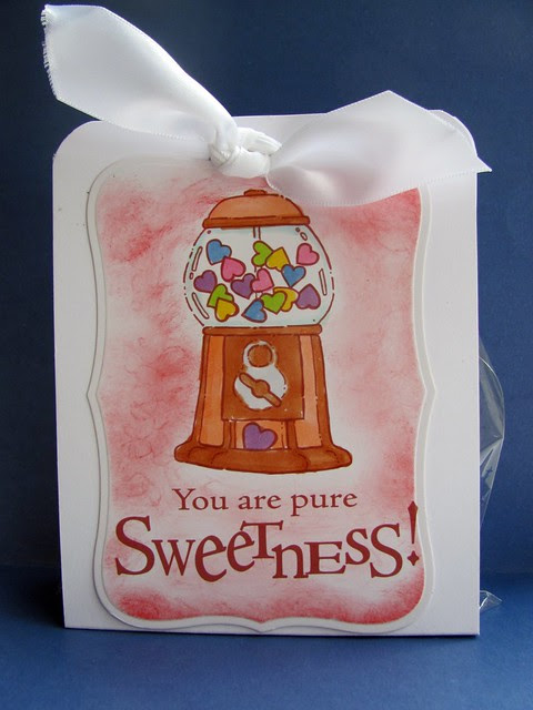 Valentines gift bag