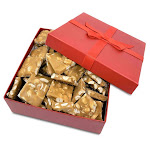 Gourmet Peanut Brittle Red Gift Box