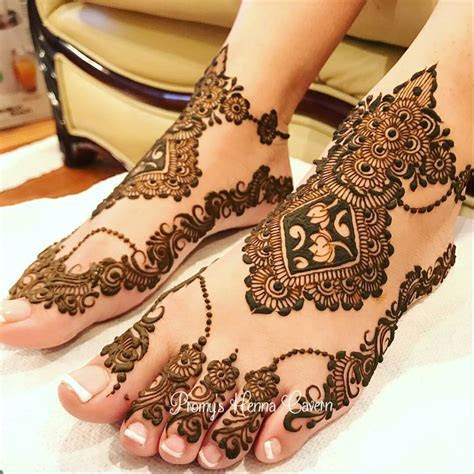 Bridal feet mehandi   Aaliyah's elegant henna   Wedding