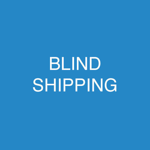 Blind Shipping For Printing – Printkeg