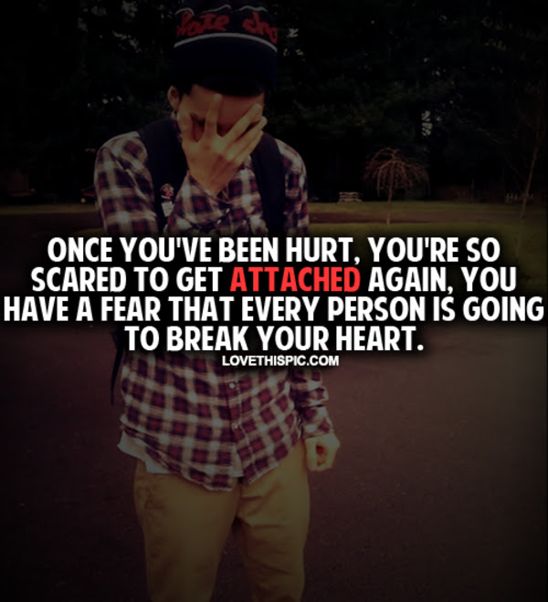 Once Youve Been Hurt Pictures Photos And Images For Facebook