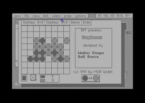 Orpheus - Geos games - Disco 4