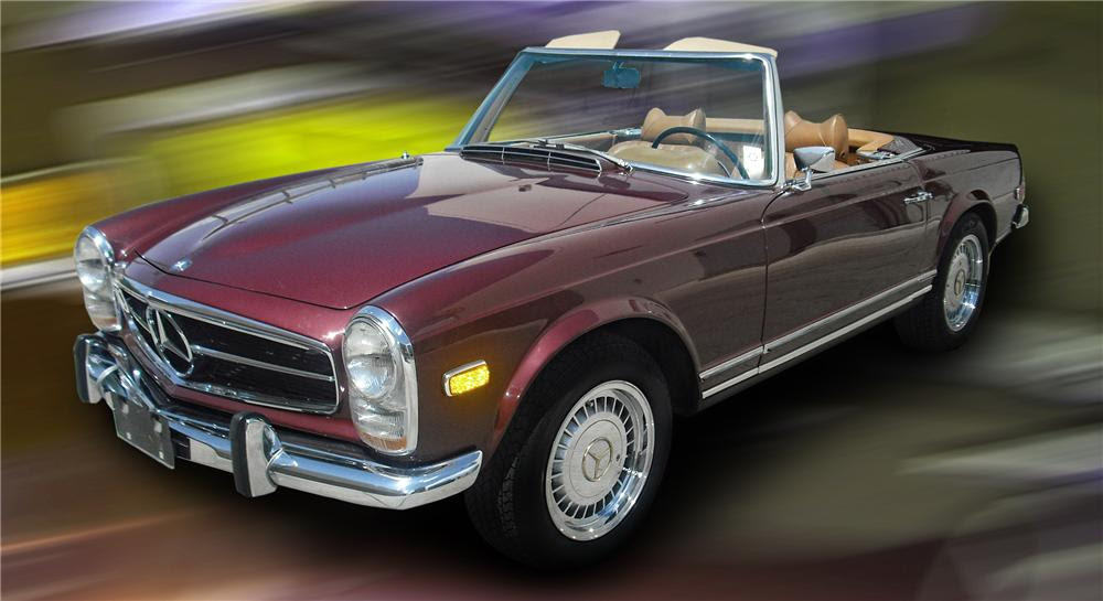 1971 MERCEDES-BENZ 280SL ROADSTER - 79144