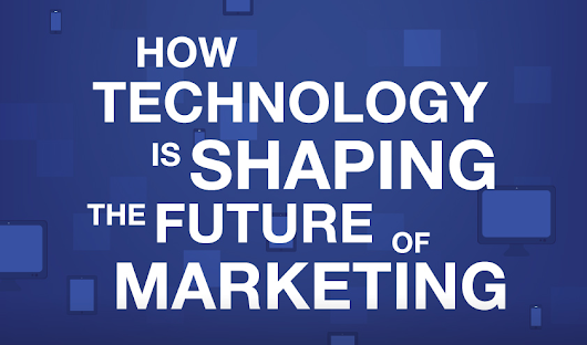 Infographic: How Technology is Shaping the Future of Marketing - Marketing Technology Blog